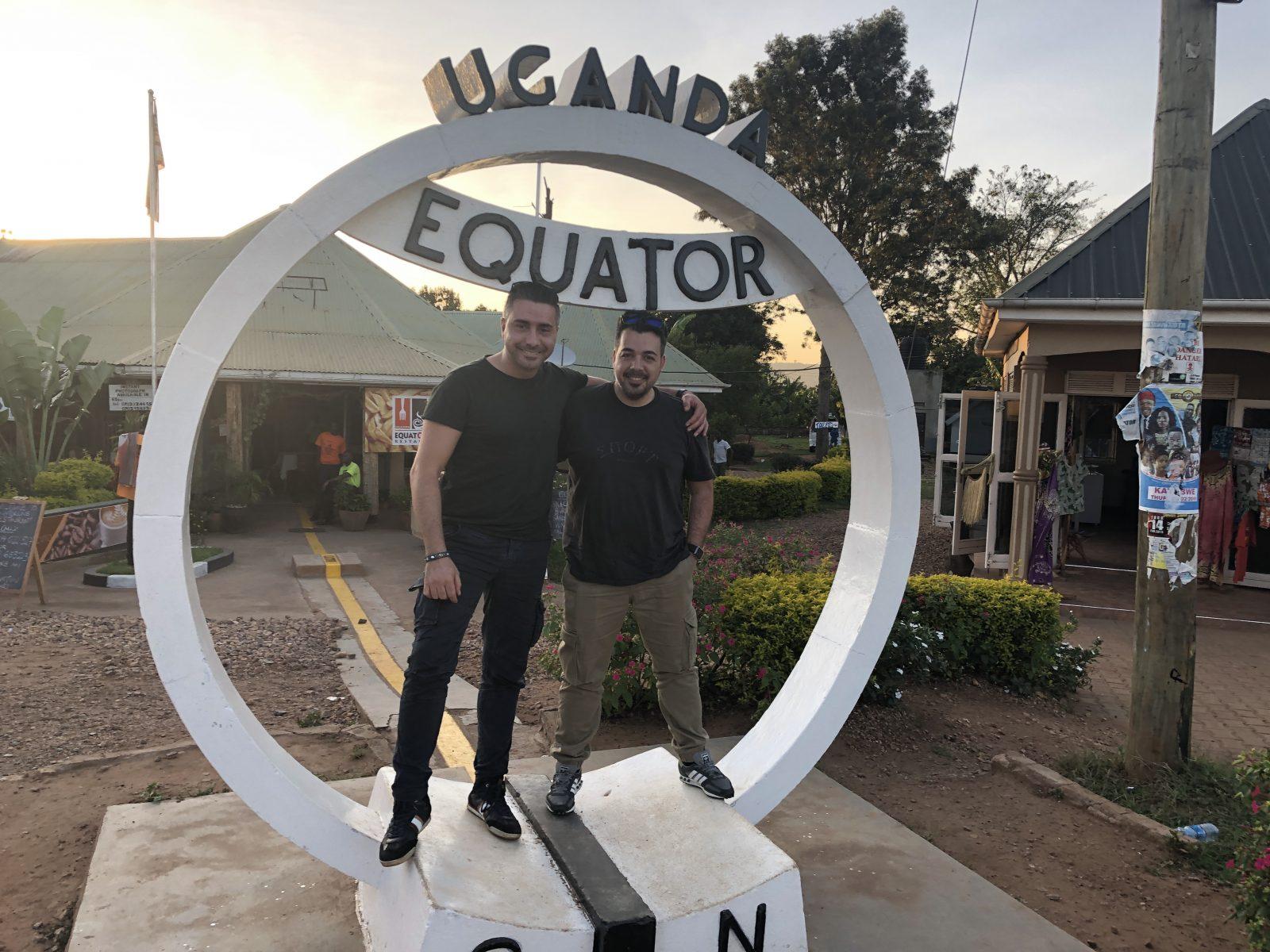 I Fratelli am Äquator
