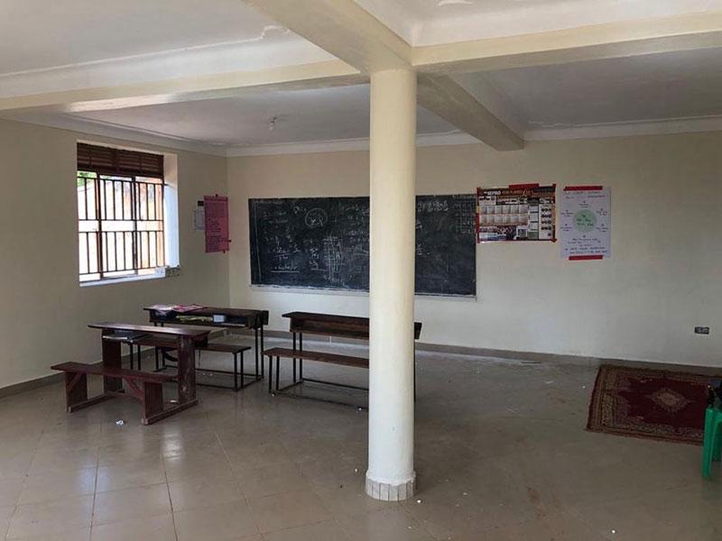 Klassenzimmer im neuen Untergeschoss